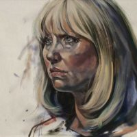 Ashleigh Jensen (Oil on linen, 35 x 40cm, as seen on Portrait Artist of the Year 2014)