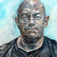 Ross Kemp (as seen on Sky Portrait Artist of the Year 2018, SOLD)