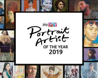 Sky Arts Portrait Artist of the Year Exhibition 2019