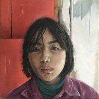 Catherine MacDiarmid portrait artist HITOHA (SOLD)
