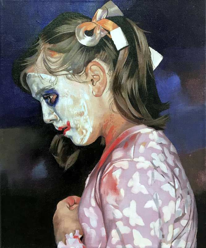 Catherine MacDiarmid-Behind the Clown Paint