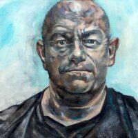 Ross Kemp portrait Catherine MacDiarmid